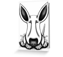 EBT Big Ear Dog  Greeting Card
