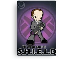 Lil Agent Coulson Canvas Print