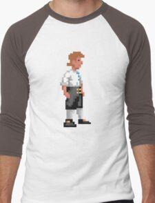 Mighty Pirate V2 Men's Baseball ¾ T-Shirt