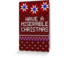 We Wish You a Merry Mizmas Greeting Card