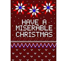We Wish You a Merry Mizmas Photographic Print