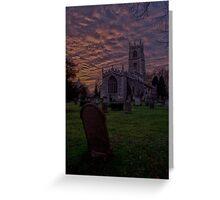 St John's Church  Greeting Card
