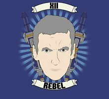 Doctor Who Portraits - Twelfth Doctor - Rebel Unisex T-Shirt