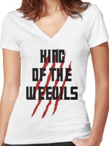 King of The Weevils - Torchwood Women's Fitted V-Neck T-Shirt