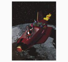 Santa's RocketSled T-shirt by photon-nectar