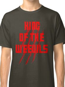 King of The Weevils (Red Words) - Torchwood Classic T-Shirt