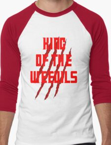 King of The Weevils (Red Words) - Torchwood Men's Baseball ¾ T-Shirt