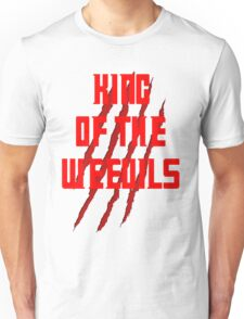 King of The Weevils (Red Words) - Torchwood Unisex T-Shirt