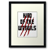 King of The Weevils (Print) - Torchwood Framed Print