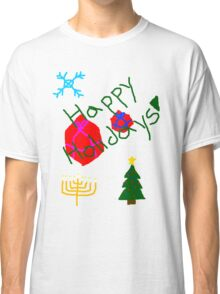 Dom and Alec Holiday T-Shirt Classic T-Shirt
