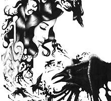 Raven Queen by Anthony McCracken