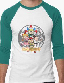 Earthbound w/ Logo Men's Baseball ¾ T-Shirt