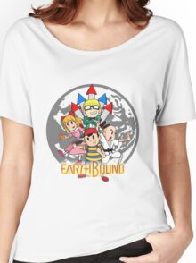 Earthbound w/ Logo Women's Relaxed Fit T-Shirt