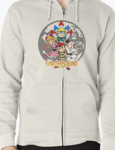 Earthbound w/ Logo Zipped Hoodie
