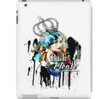 Fancy Vintage 'Bitch Please'  iPad Case/Skin