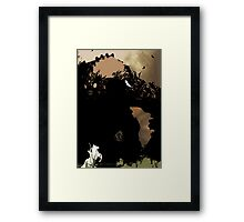 shadow of the colossus_3 Framed Print