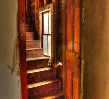 Attic Door by Geoffrey Coelho