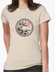 Zen Bamboo  Womens Fitted T-Shirt