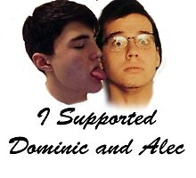 I Supported Dominic and Alec T-Shirt by DomAlecShirts