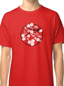 Plum Blossoms - White Classic T-Shirt