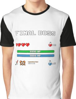 Final Boss Graphic T-Shirt
