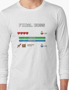 Final Boss Long Sleeve T-Shirt