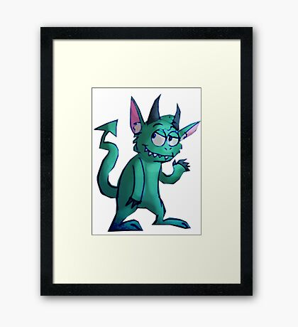 Sly Grem Framed Print