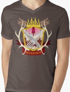 Hannibal Crest Mens V-Neck T-Shirt