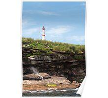 Bird Islands Lighthouse Poster