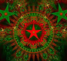 Christmas Stars by Sandy Keeton