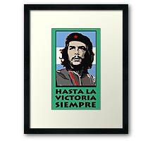 """""""CHE GUEVARA: HASTA LA VICTORIA SIEMPRE"""" Framed Print"""