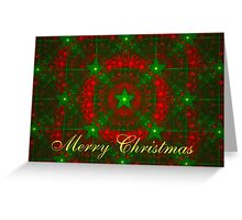 Holiday Stars Card Greeting Card