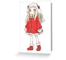 anime Kancolle  santa Greeting Card