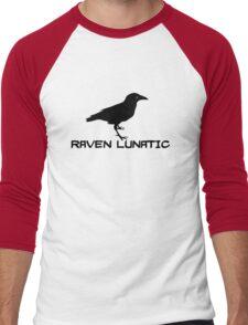 Raven Lunatic Men's Baseball ¾ T-Shirt