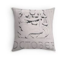 October Balance Throw Pillow