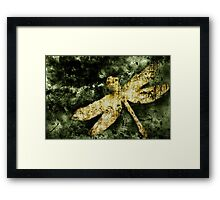 Coheed and Cambria Dragonfly Poster (No Text) Framed Print