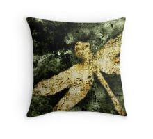 Coheed and Cambria Dragonfly Poster (No Text) Throw Pillow
