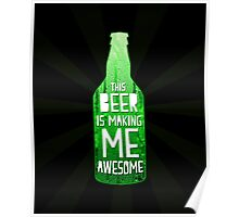 Typography - Beer Poster