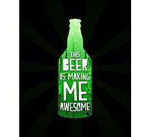 Typography - Beer Photographic Print