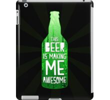 Typography - Beer iPad Case/Skin