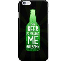 Typography - Beer iPhone Case/Skin