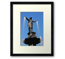 The Genius of Water - Fountain Square Cincinnati Ohio Framed Print