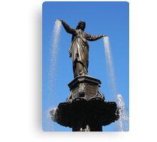 The Genius of Water - Fountain Square Cincinnati Ohio Canvas Print