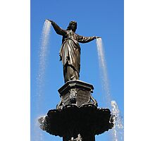 The Genius of Water - Fountain Square Cincinnati Ohio Photographic Print