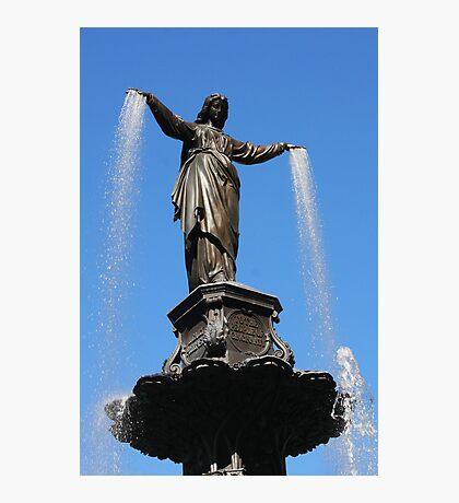 The Genius of Water - Fountain Square Cincinnati Ohio Photographic Print