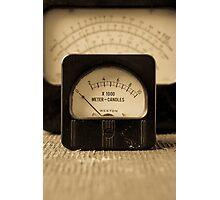 Vintage Electrical Meters Photographic Print