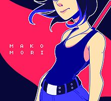 Mako Mori by ghoulkiss
