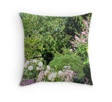 Chicago Botanic Gardens Throw Pillow