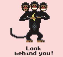 Three-Headed Monkey Kids Tee