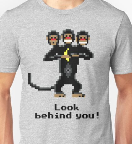 Three-Headed Monkey Unisex T-Shirt